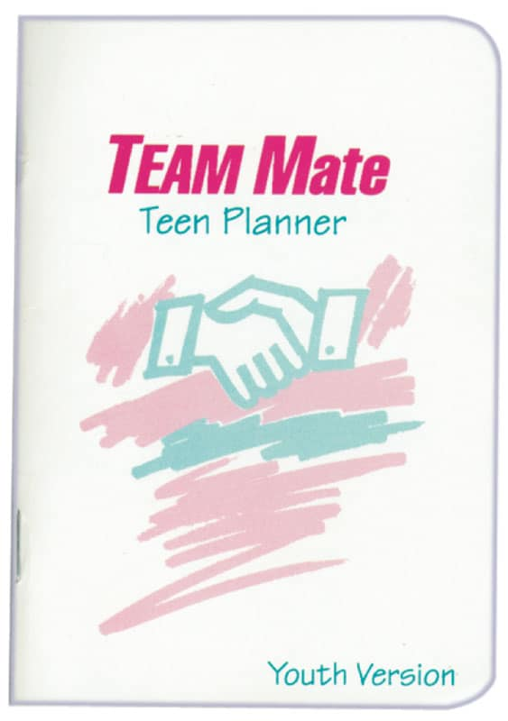 Team Mate Teen Planner