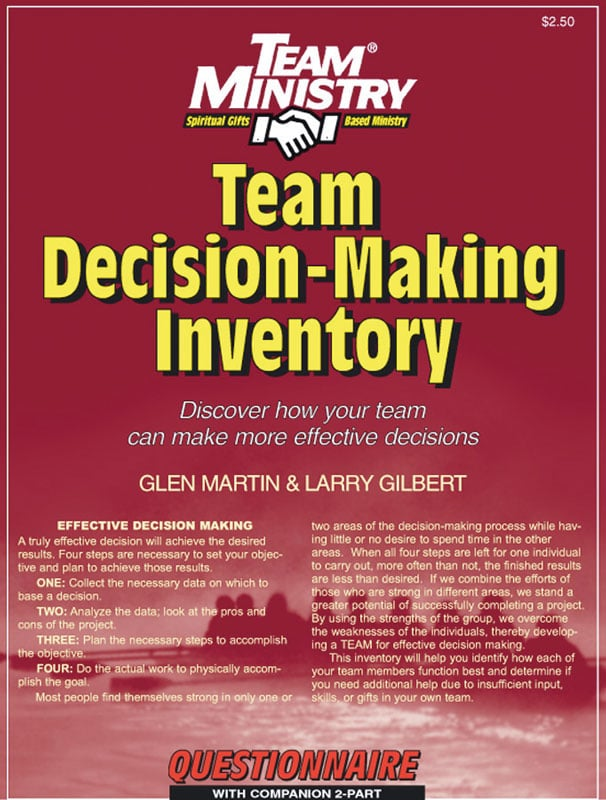 Team Decision-Making Inventory