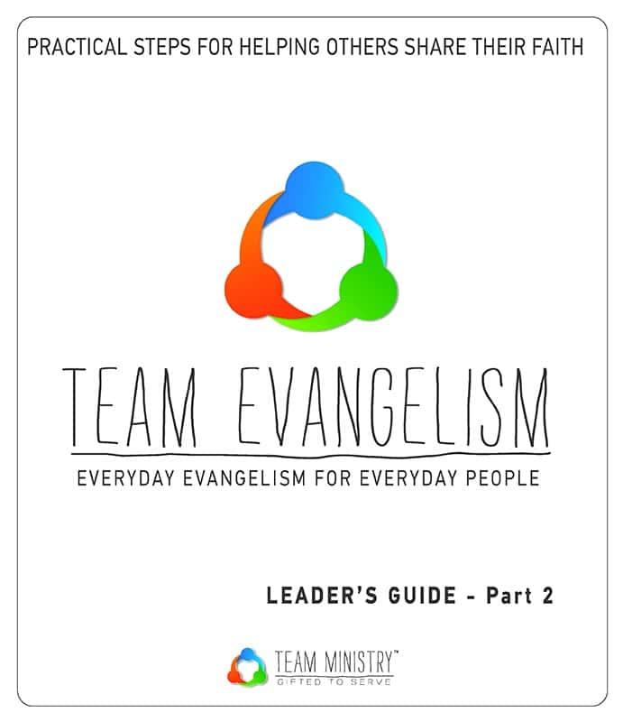 Team Evangelism Resource Packet, Part 2
