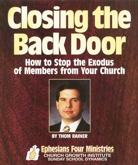 Downloads churchgrowth closing the back door audio seminar how to stop the exodus of members from your church ebook instant pdf and audio track downloads 60 value fandeluxe Image collections
