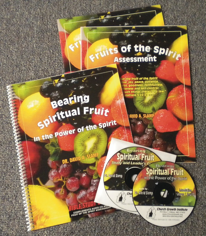 Bearing Spiritual Fruit In The Power Of The Spirit Study Guide With Leader's Notes On CD