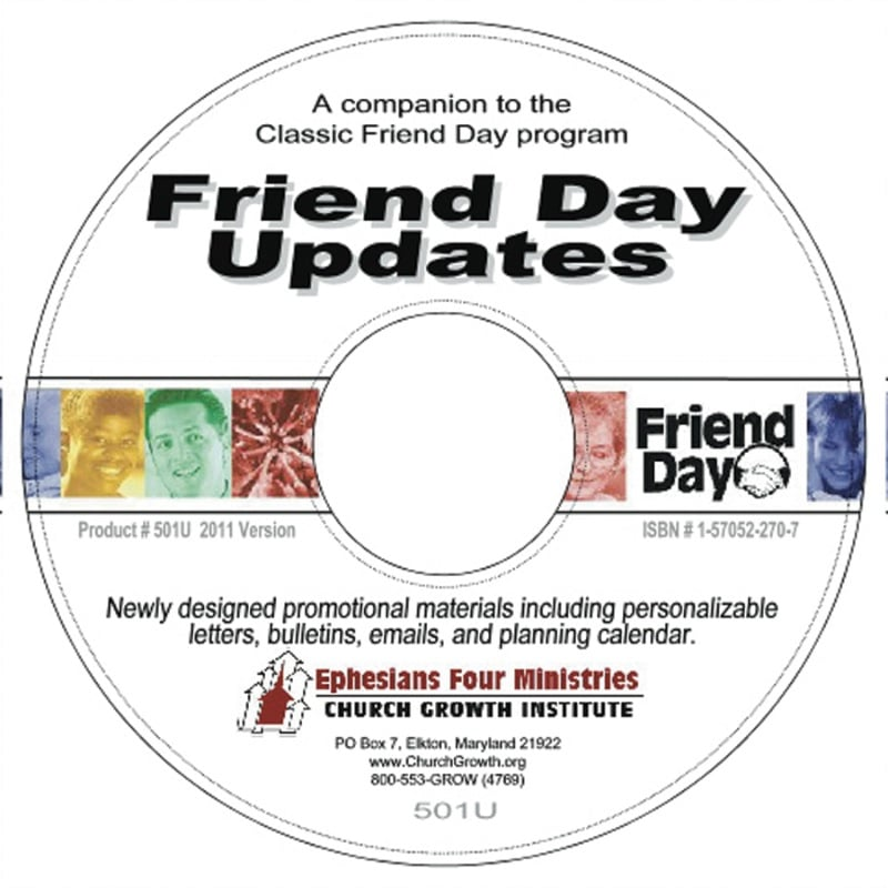 Friend Day Update CD 2011