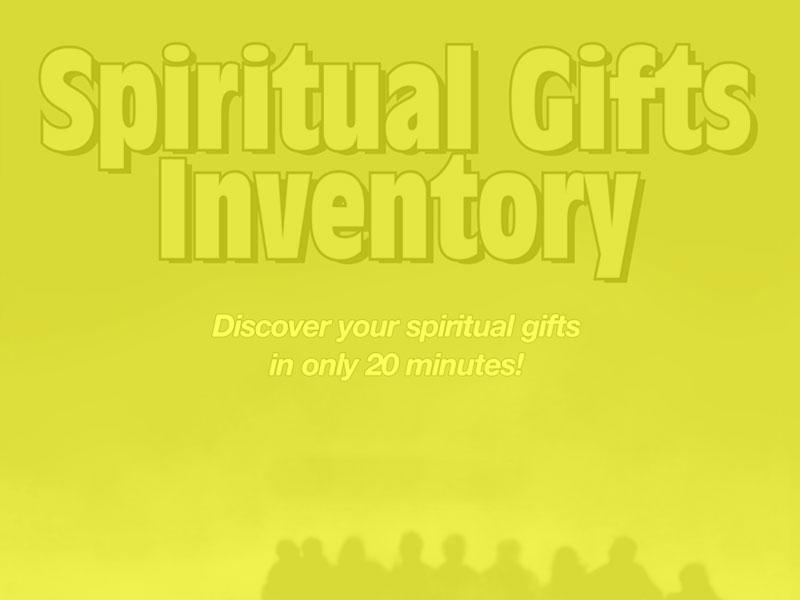 Spiritual Gifts Surveys