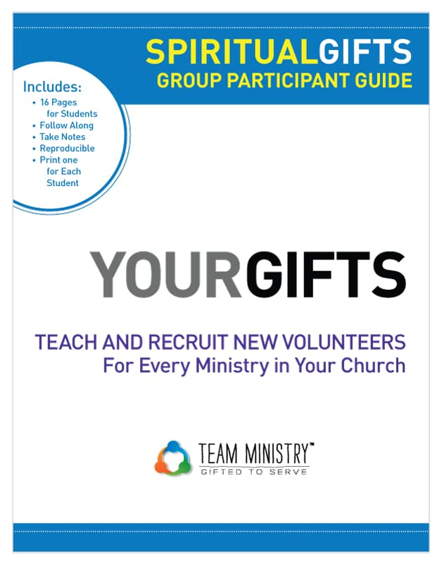 Team Ministry Spiritual Gifts Group Participant Guide 9781570522260