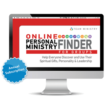 Online Personal Ministry Finder | Spiritual Gifts | ChurchGrowth.org