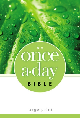 NIV Once-A-Day Bible, Large Print Paperback