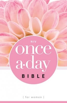 NIV Once-A-Day Bible for Women Paperback