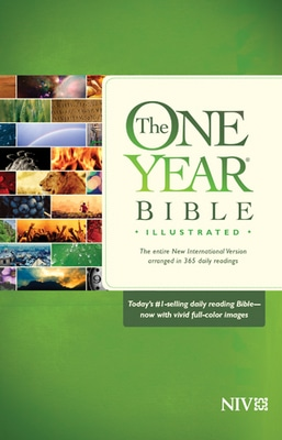 The One Year Bible Illustrated NIV Hardback